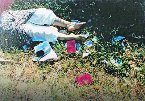 Jedna od fotografija iz prikupljene dokumentacije o stravičnim zločinima OVK na Kosovu