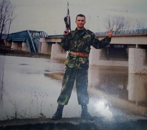 Pripadnik Mladićeve garde
