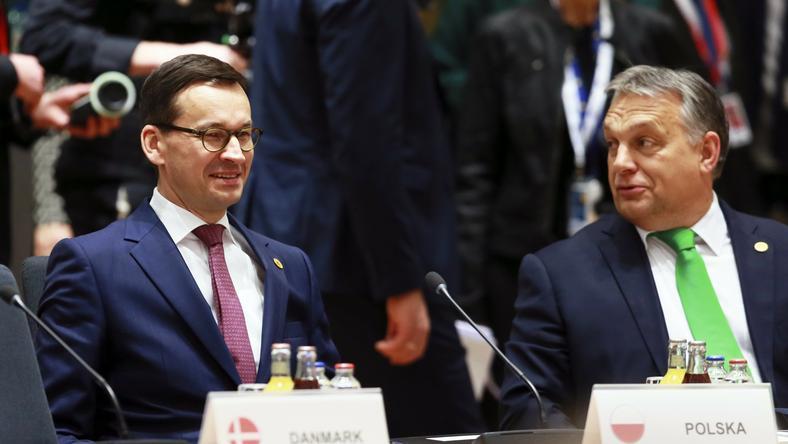 Mateusz Morawiecki i Viktor Orban