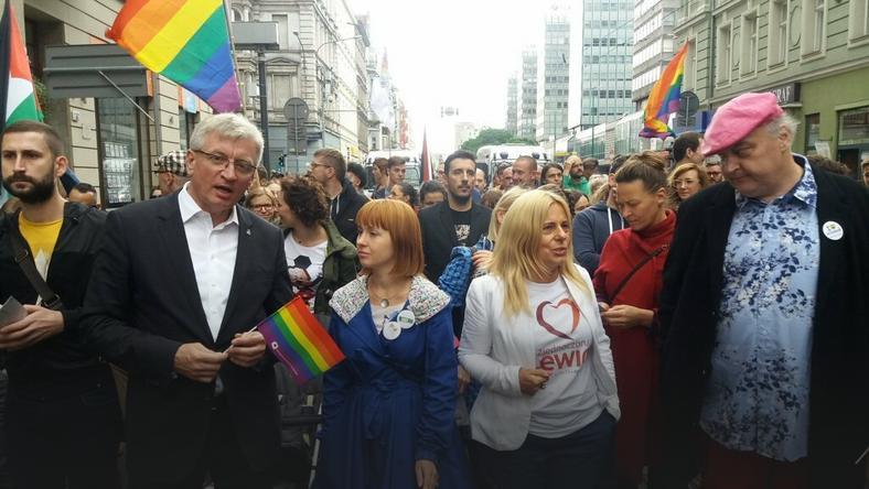 Marsz Równości, Poznań, Jacek Jaśkowiak