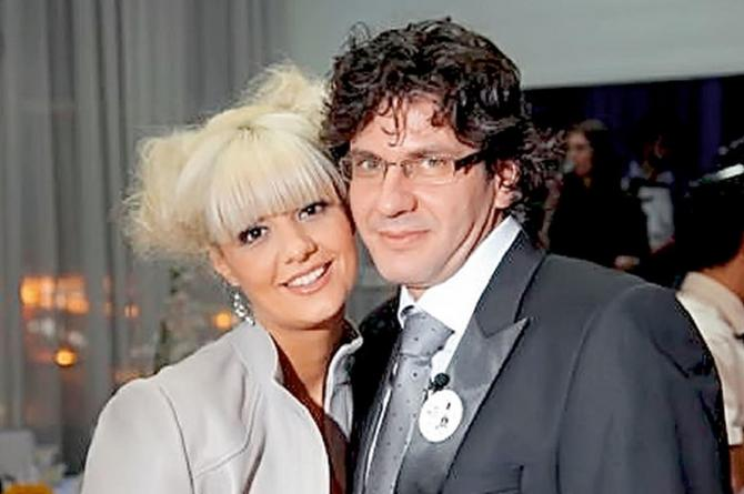 Irena i njen suprug