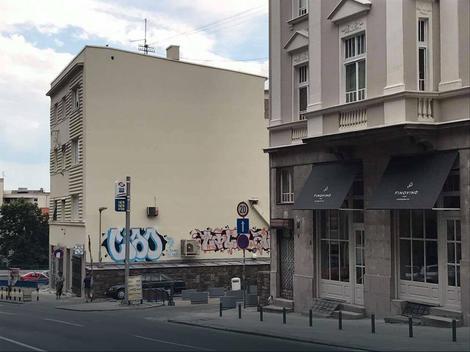 Ižvrljana nova fasada u Pop Lukinoj ulici