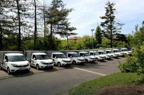 Nova vozila u Zavodu za biocide