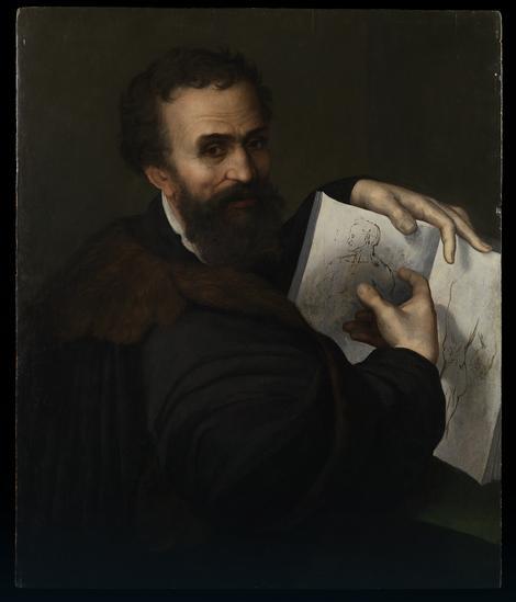 (Najverovatnije) Sebastijano del Pjombo, Mikelanđelov portret, 1518-20.