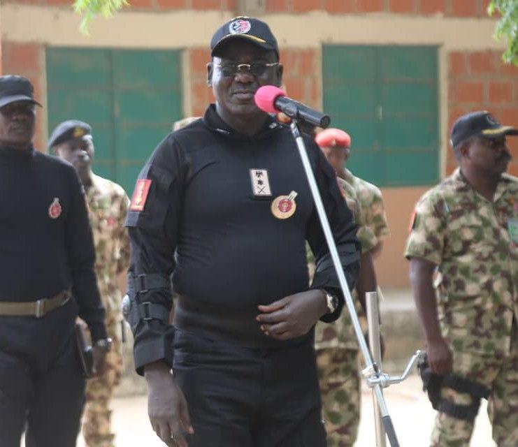 Chief of Army Staff, Lieutenant-General Tukur Buratai [Facebook/HQ Nigerian Army]