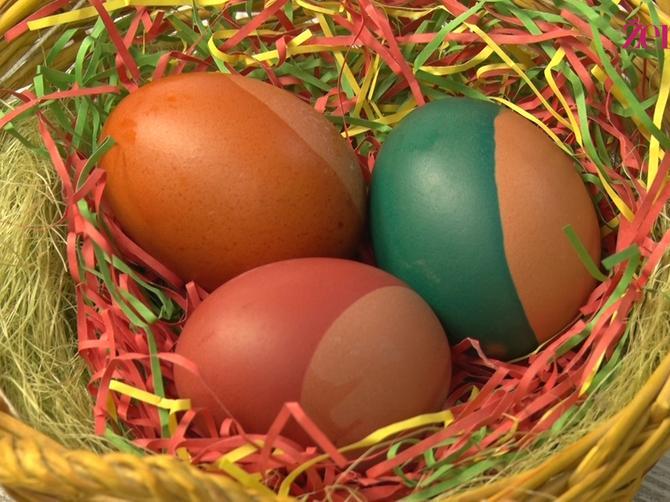 Farbanje jaja nikad nije bilo lakše. Probajte!