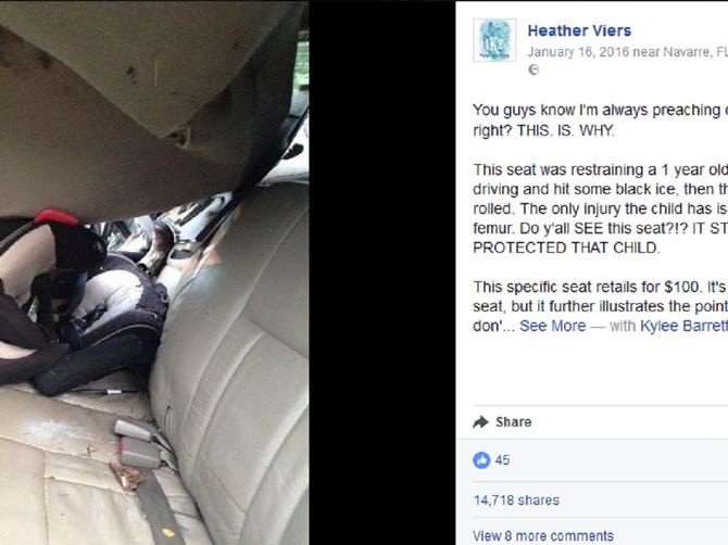 Koliko je važno da PRAVILNO montirate dečije sedište u autu: OVOM dečaku je to spasilo život