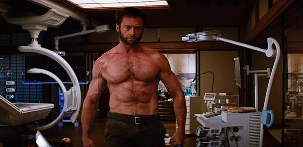 "Hugh Jackman în ""The Wolverine"" (foto: youtube.com)"