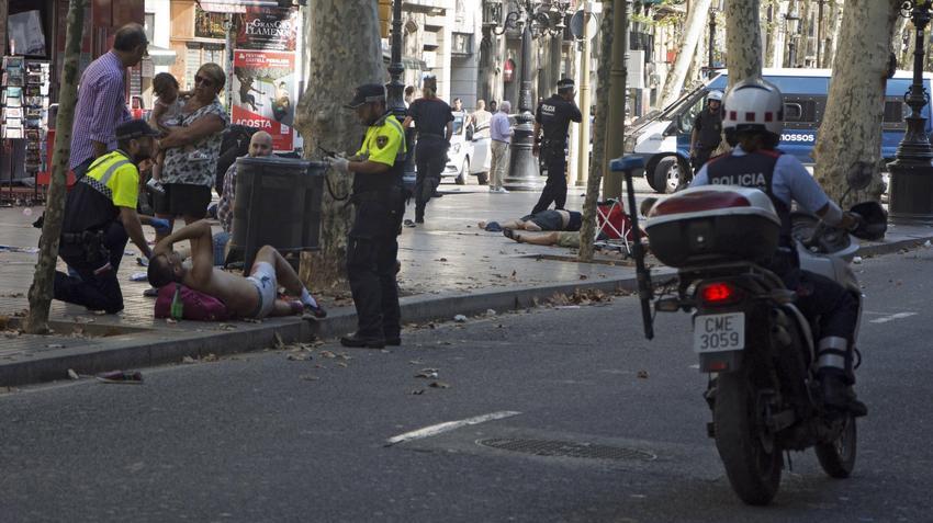 Zamach W Barcelonie. Zamach Terrorystyczny W Hiszpanii
