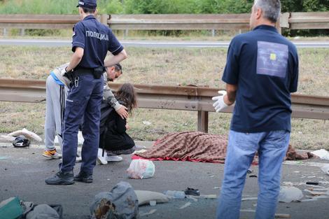 Devojka je ostala u šoku nakon nesreće