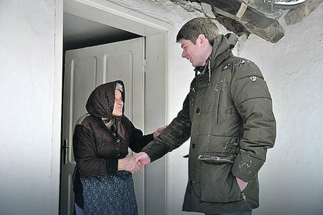 Arno Gujon u Novom Brdu na Kosovu