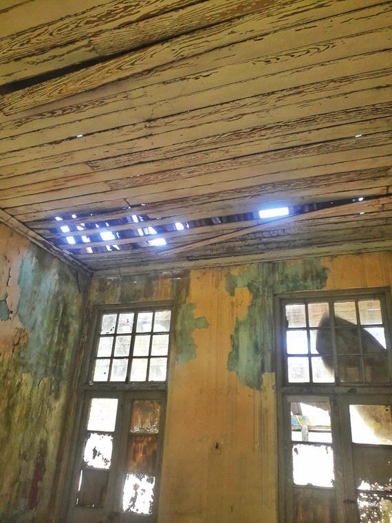 Picture inside the amalgamation house [Twitter/Haroldwrites]