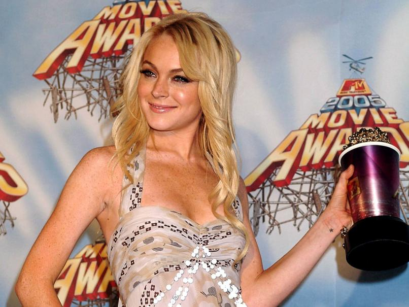 Lindsay Lohan na MTV Movie Awards 2005