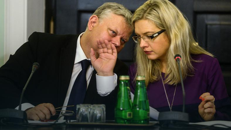 Marek Suski i Małgorzata Wasserman