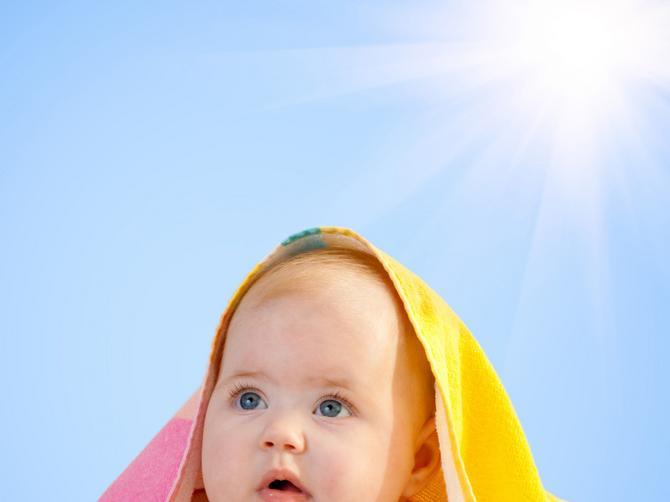 Sa bebom na suncu maksimalno 15 minuta
