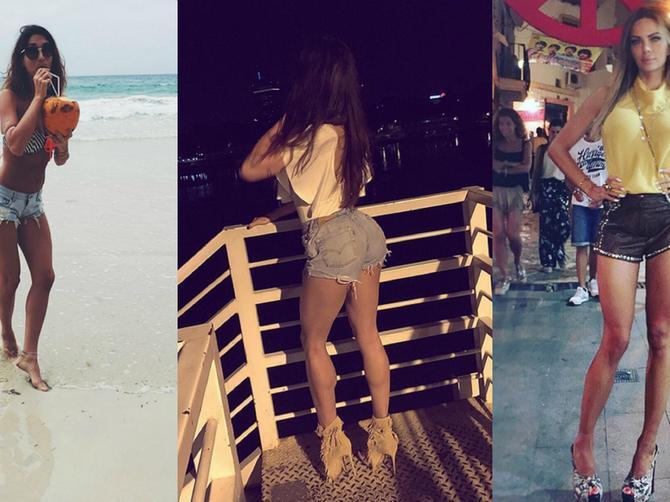 Naše poznate dame su minijaturnim šortsevima zapalile ovo leto: Ali kojoj najbolje stoji?