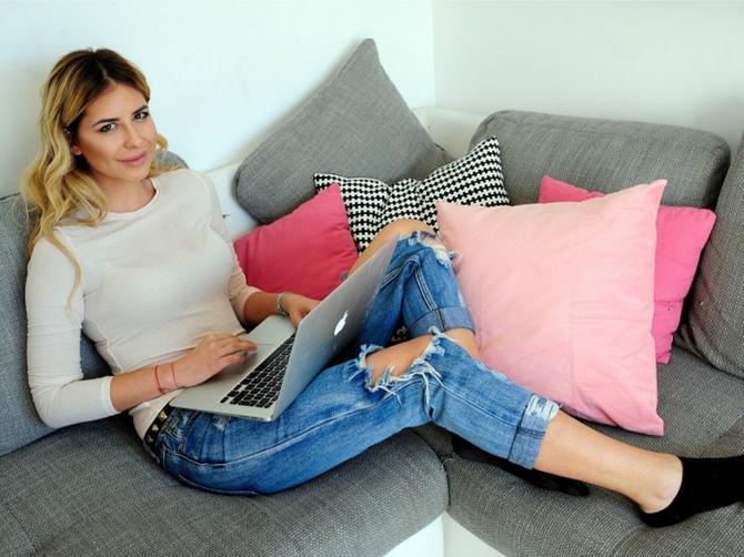 Zavirili smo u dom najpoznatije srpske blogerke! Žene će joj zbog jednog detalja zavideti!