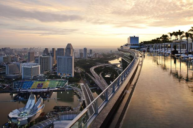 Singapur, Marina Bay Sands