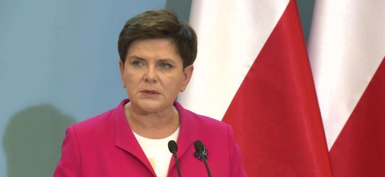Beata Szydło: minister Szałamacha zwrócił się z prośbą o zmianę miejsca zatrudnienia