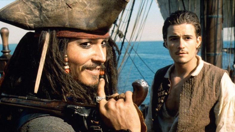 Jack Sparrow és Will Turner (Johnny Depp és Orlando Bloom) (Fotó: RAS-archív)