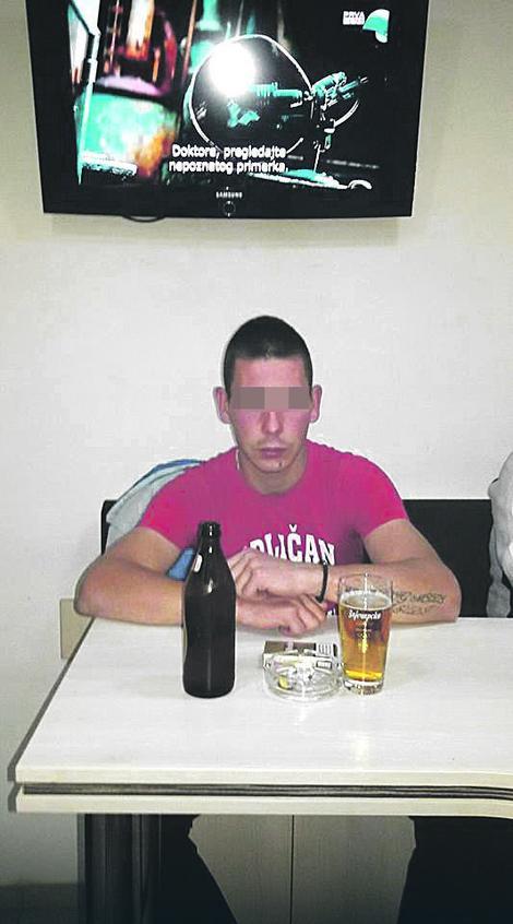 Bata V. navodno je pretukao poznanika, a potom silovao njegovu devojku