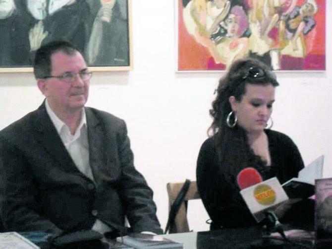 Maja sa suprugom Radišom