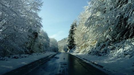 Sneg u ivanjičkom kraju