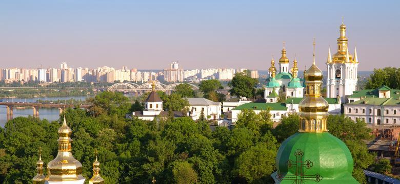 Ukraina: w Kijowie płonęła oskarżana o prorosyjskość stacja TV