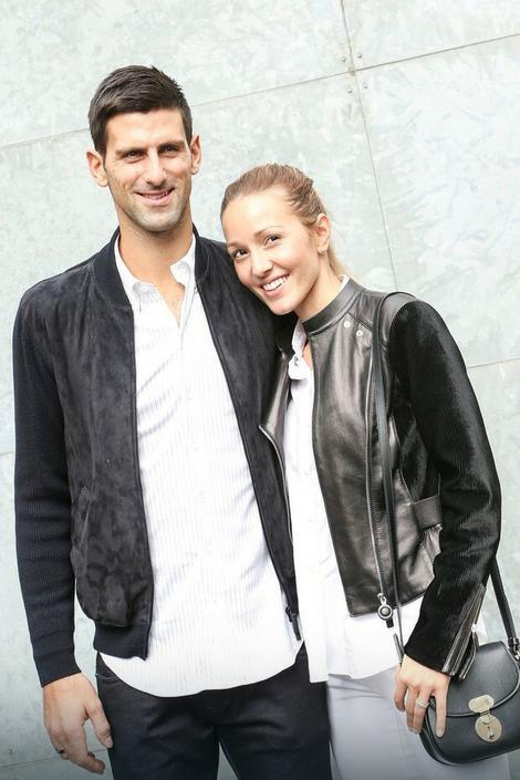Novak i Jelena Đoković