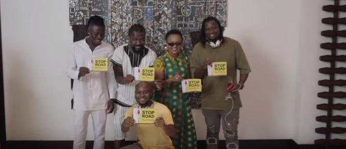 Sarkodie's road safety campaign launch