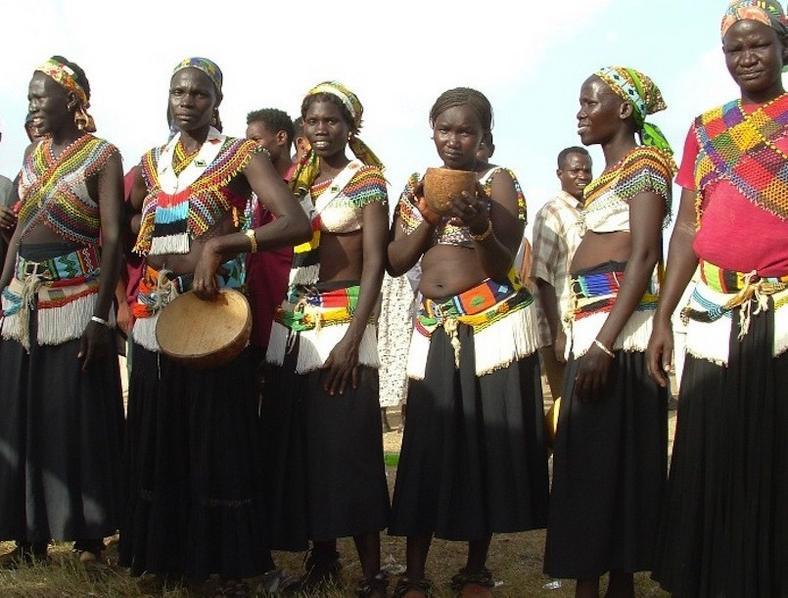 Latuka women of Sudan [Outward On]