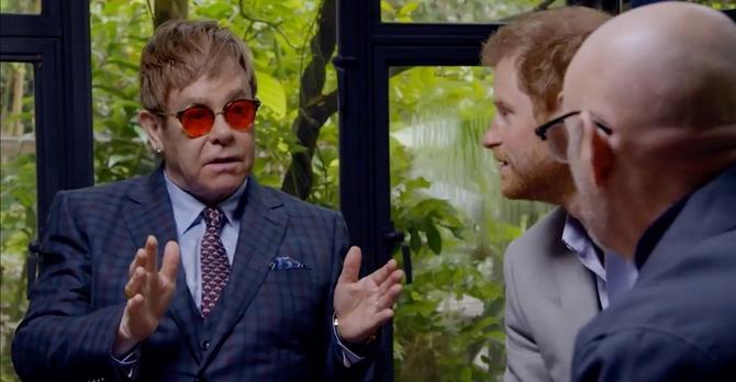 O Dajani je pričao i Elton Džon, koji je bio njen veliki prijatelj