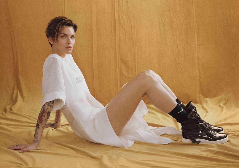 Ruby Rose w kmapanii Nike Force is Female
