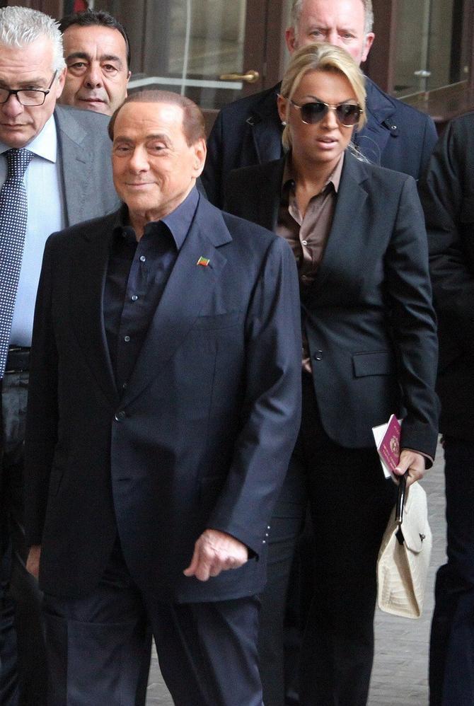 Silvio Berluskoni sa trećom suprugom Frančeskom Paskal