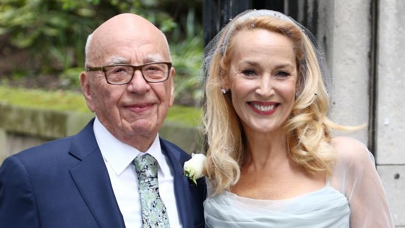 Ruperta Murdocha i Jerry Hall