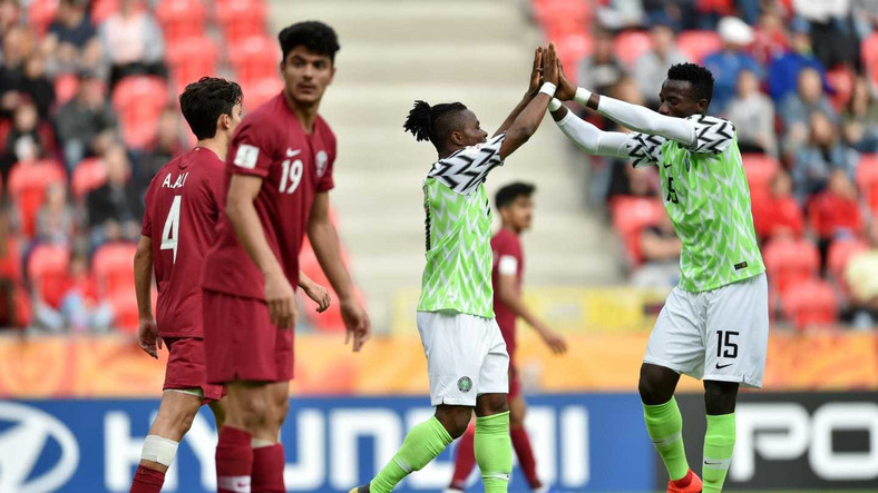 The Flying Eagles will face USA in their second game on Monday (Getty Images)