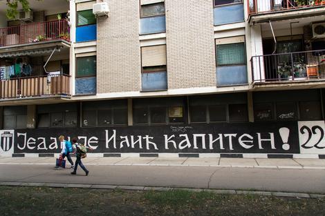 Mural posvećen Saši Iliću