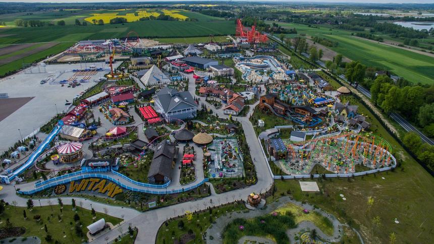 Energylandia w Zatorze to największy par rozrywki w Polsce