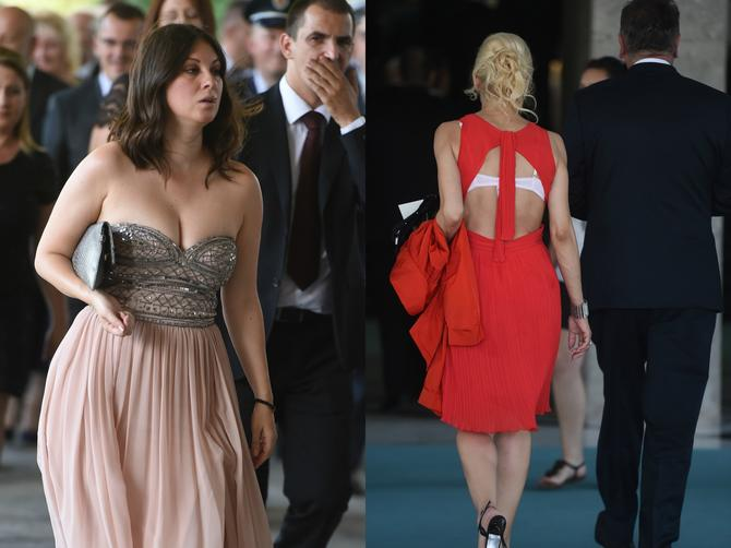 SEVNUO BRUS I DEKOLTE na inauguraciji! Šta li će im reći Vučić?