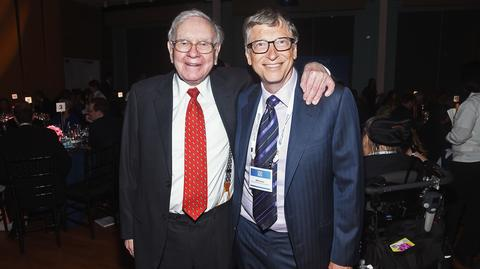 Warren Buffett i Bill Gates