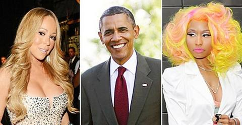 Obama se umešao u svađu između Maraje Keri i Niki Minaž
