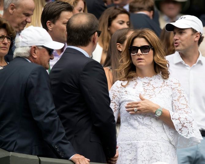Velika trema tresla je i nju, ne samo Federera