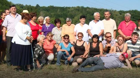 Slika za uspomenu iz sela Gornje Plane