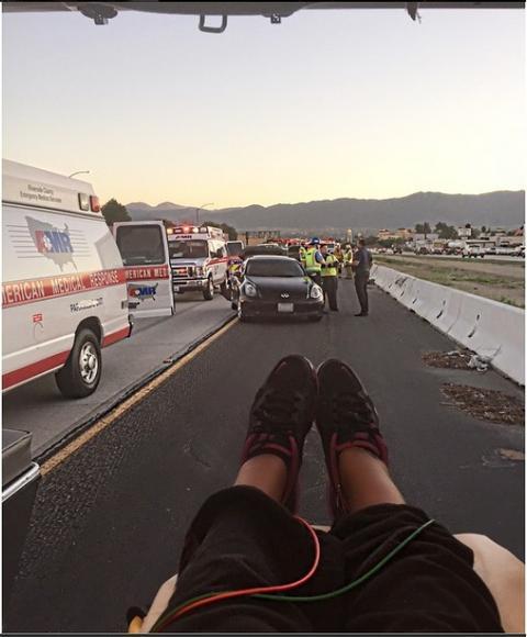 Nedelju dana pre porođaja doživela stravičnu saobraćajnu nesreću! FOTO