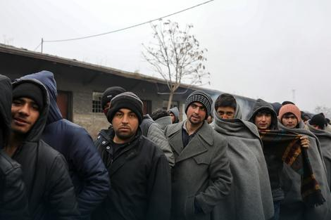 200 migrants a few days ago moved to the barracks in Obrenovac