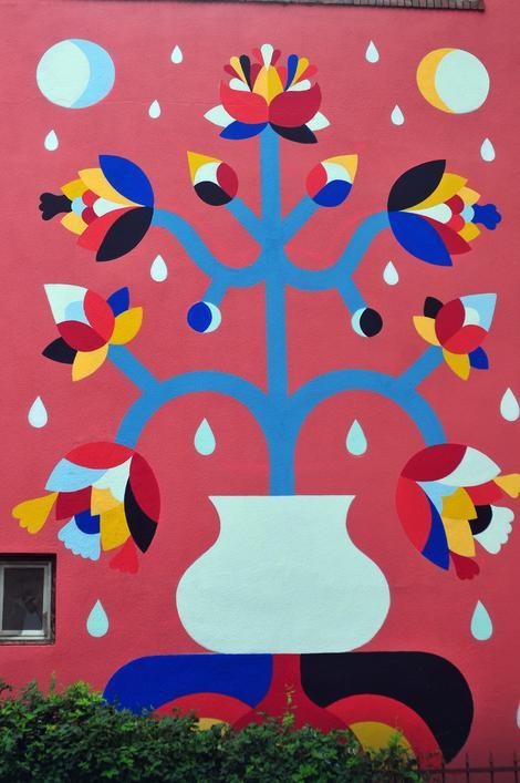 Remedov povratak obrisali mu mural u novom sadu ali for Mural u vukovarskoj ulici