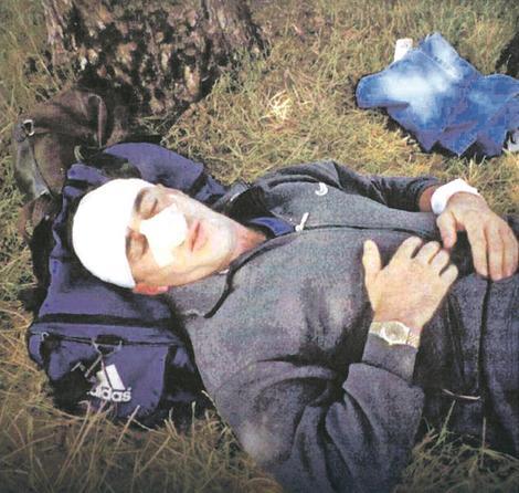 Ramuš Haradinaj napao je ruske vojnike koji su 2000. bili stacionirani u blizini sela Mušotište, ali je brzo savladan