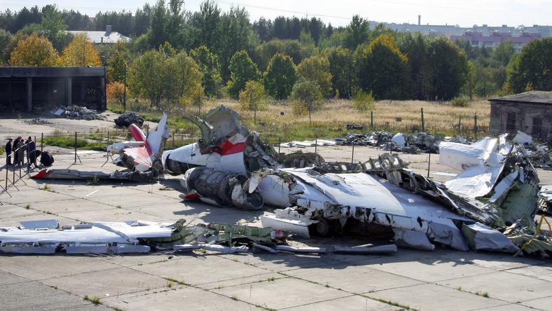 Wrak Tu-154 M
