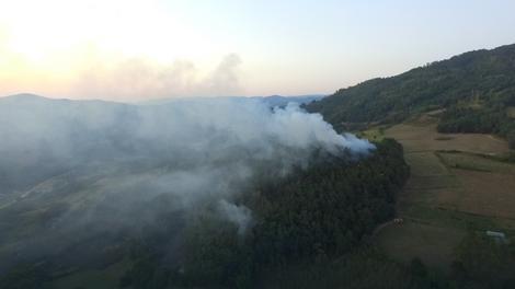 Požar između sela Dub i Zlodol kod Bajine Bašte