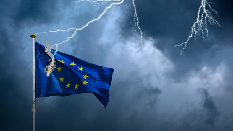 W Unię Europejską może uderzyć wicher politycznej zawieruchy
